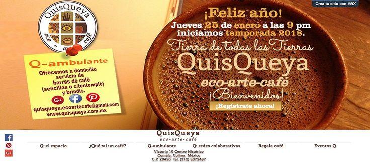 Este jueves 25 de enero en QuisQueya eco-arte-café iniciamos la temporada 2018. ¡Y nos encanta!