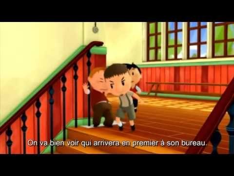 Le Petit Nicolas avec sous-titres. Pour aider à l'apprentissage de la langue…