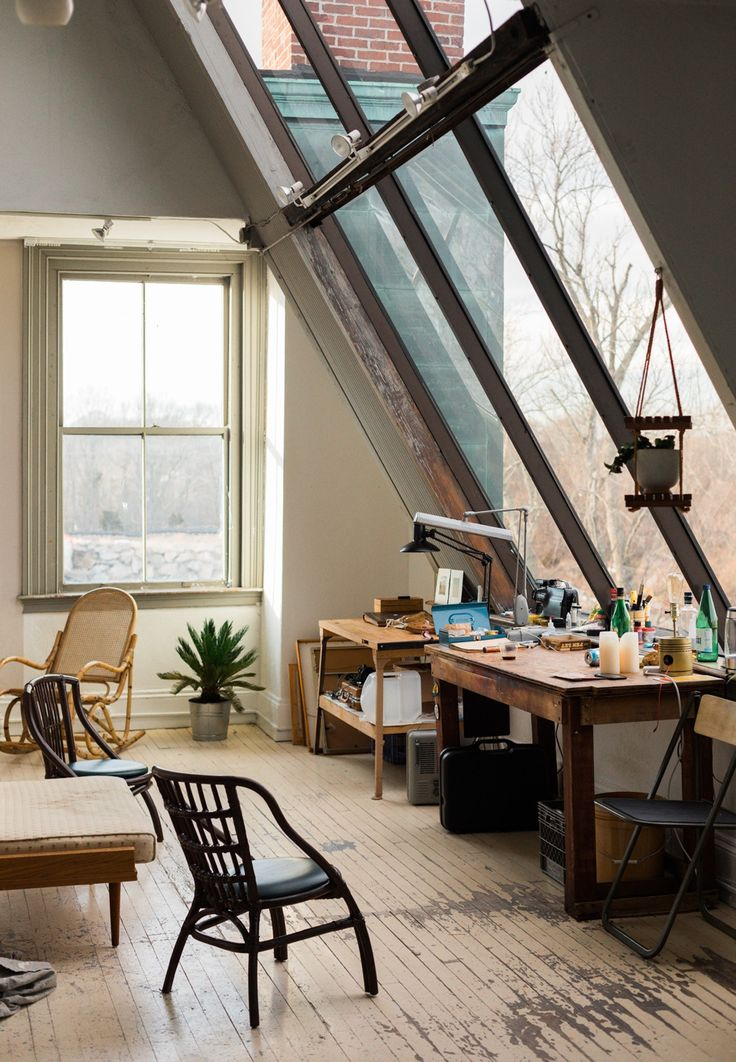 This Stunning Studio in Rhode Island is a Creative's Dream