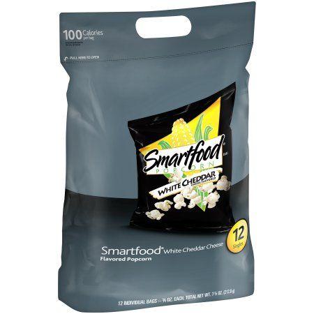$3.98 Smartfood Popcorn White Cheddar (12 - .625Oz) 7.50 Ounce Plastic Bag - Walmart.com