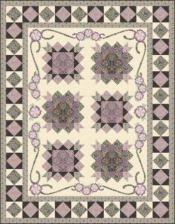 Downton Abbey Violet S Quilt Downloadable Quilt Pattern