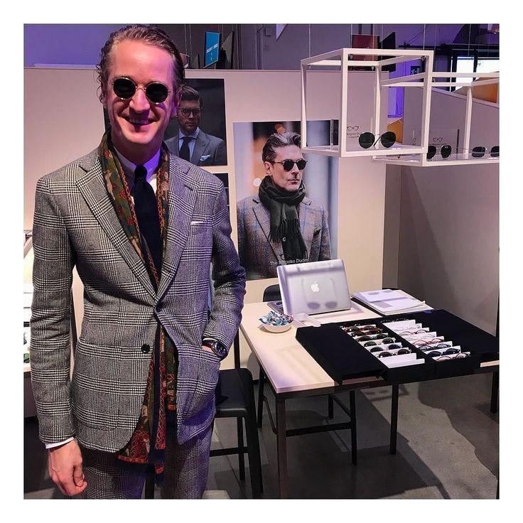 @raoul_mulder #newtailor @tbdeyewear #pitti #pitti93