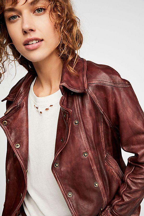 Pin By Paula Sejas On Leather Fur Jacket Leather Jacket Women Brown Free People Leather Jacket Leather Jacket Photoshoot