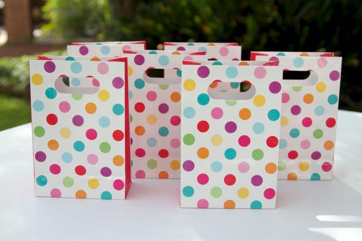 Super cute hiPP favour bags! Love the colours!
