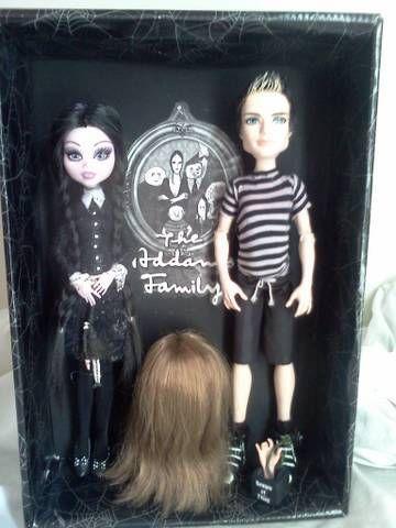 Addams Family Repaint dolls