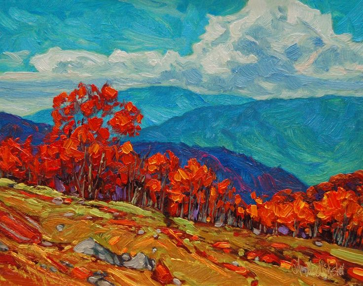 "Thanksgiving Time CATEGORY: Painting STYLE: Contemporary MEDIUM: Oil on Panel SUBJECT: Landscape ART SIZE: 11"" H x 14"" W FINISHED SIZE: 17"" H x 20"" W http://www.koymangalleries.com/thanksgiving-time.html#sthash.ybD7jnn1.dpuf $1400.00"