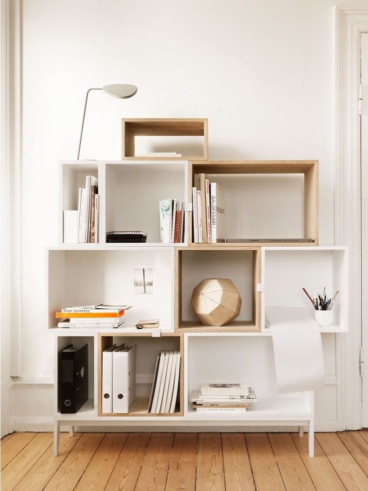 Shop The Stacked Shelving System, Versatile Modular Shelving That Lets You  Create A Storage Unit To Fit Your Particular Space And Style. Great Ideas