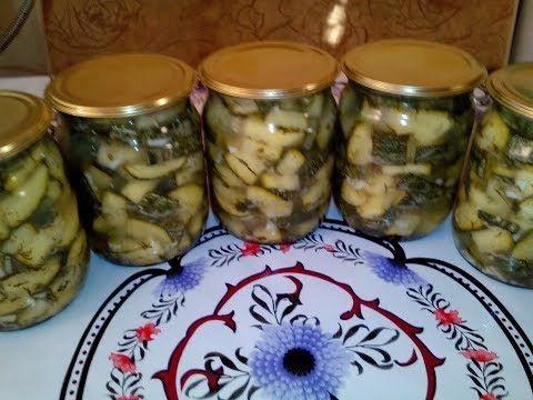 Вкусные кабачки. Заготовка на зиму - YouTube