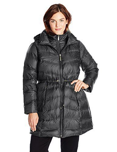"Product review for Ellen Tracy Outerwear Women's Plus-Size Chevron Packable Down Coat.  - Plus Size Packable Down Coat with Cinched Waist   	 		 			 				 					Famous Words of Inspiration...""Ill can he rule the great that cannot reach the small.""					 				 				 					Edmund Spenser 						— Click here for more from Edmund..."