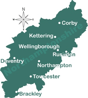 Northamptonshire - Where Nana's family is from