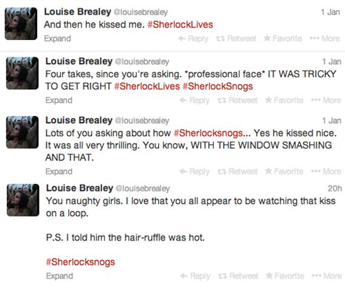 Louise Brealey, you are adorable <3