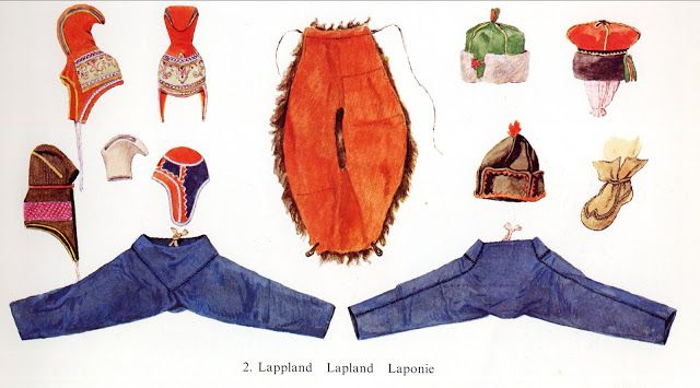 Folk Costume & Embroidery: Overview of Saami costume http://folkcostume.blogspot.com.au/2013/05/overview-of-saami-costume.html
