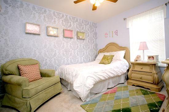 DIY Stencil     : DIY Bedroom Ideas with Cutting Edge Stencils