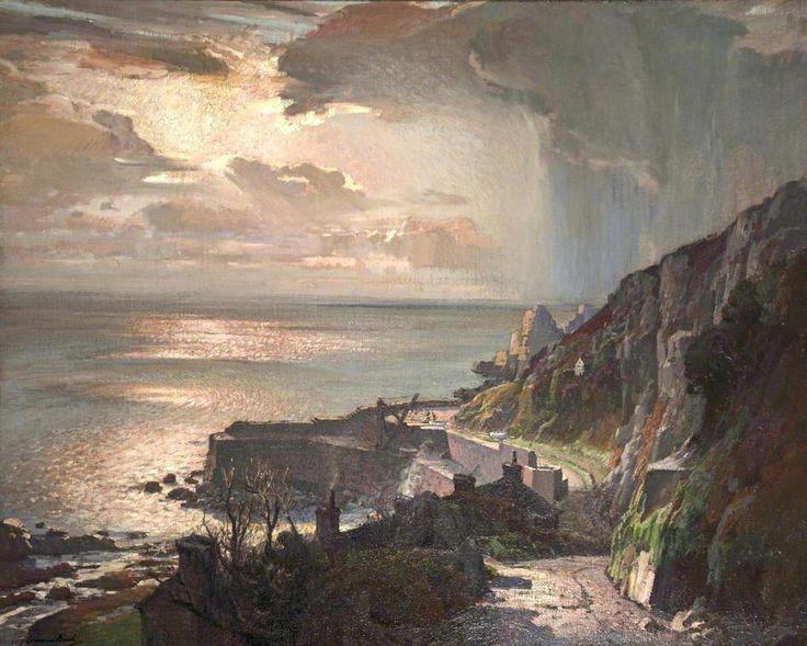 Samuel John Lamorna Birch: Morning at Lamorna Cove, Cornwall