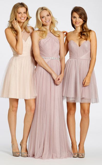 Easter Wedding Inspiration brought to you by Bridal Reflections. Lovely Bridesmaids Dresses  Designer: Jim Hjelm Occasions http://www.bridalreflections.com/bridesmaids-designers/jim-hjelm-occasions