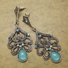Er390 antigo Bohemia Retro Vintage jóias para mulheres bijuterias(China (Mainland))