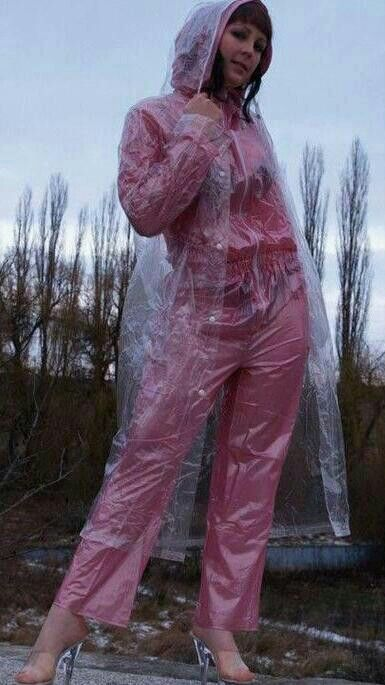 Transparent Plastic Over Rain Suit Pvc Chemical Suits