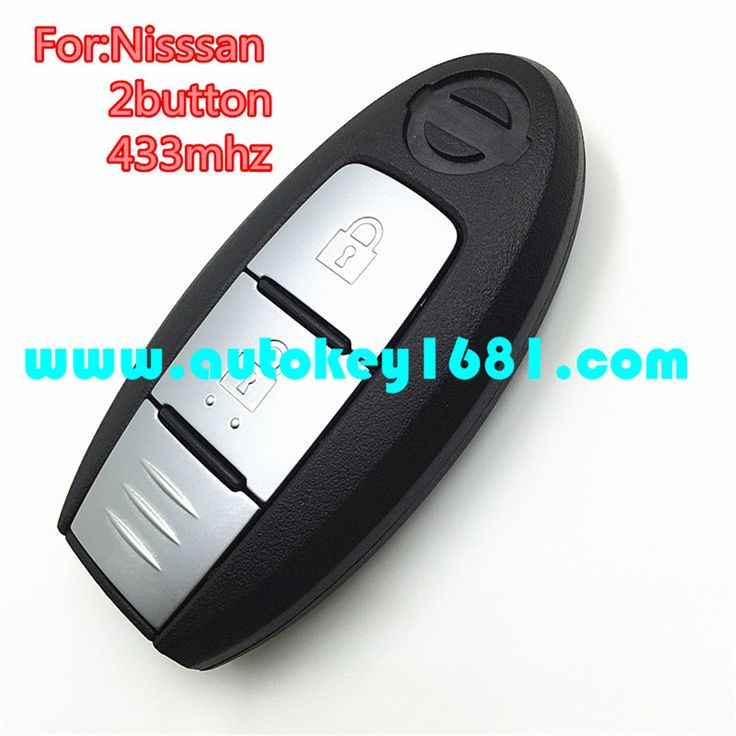 Car key for nissan juke tiida smart key fob 2 button