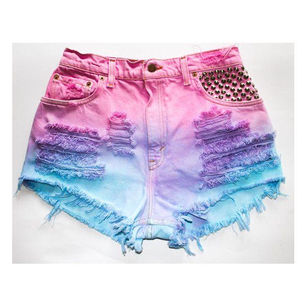 Best 20  Tie dye shorts ideas on Pinterest | Tie dye jeans, Diy ...