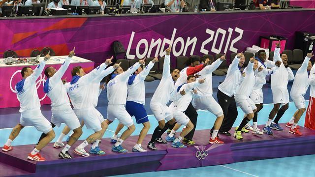 Magnifiques Experts-Handball-Jeux Olympiques