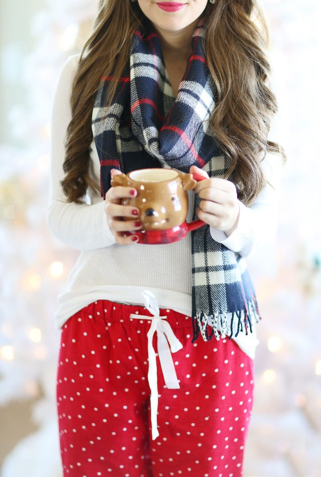 Cozy at Home with J.Crew Factory Southern Curls & Pearls waysify