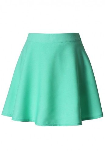 Mint Skater Skirt - New Arrivals - Retro, Indie and Unique Fashion  #Chicwish
