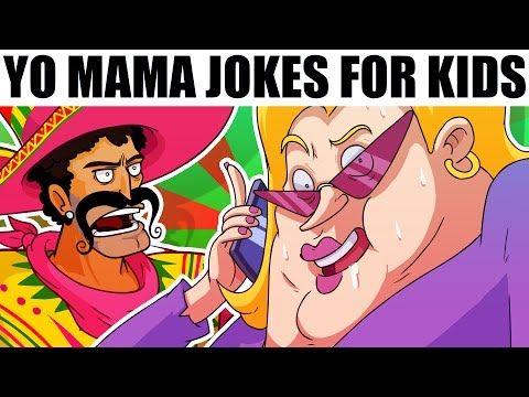 YO MAMA FOR KIDS! Cell Phone Jokes (Cartoons) - YouTube