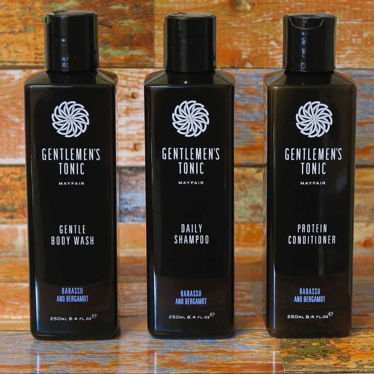 Body Wash, Daily Shampoo & Protein Conditioner of Gentlemen's Tonic from Londen.