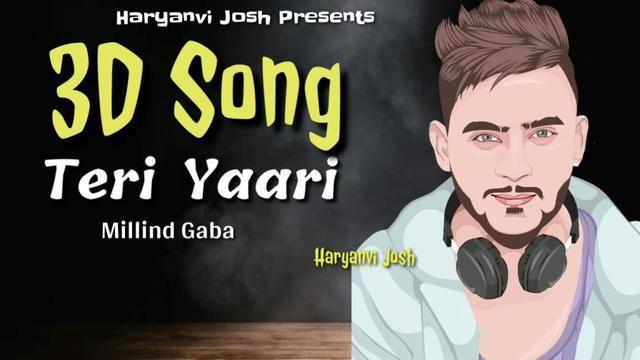 Teri Yaari Song Download Video Mp4 Mp3 Millind Gaba In 2020 Friendship Songs Songs New Song Download