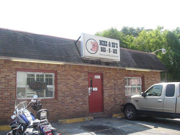 Mike & Ed's Bar-B-Que and 13th Street Bar-B-Q, Phenix City AL   Marie, Let's Eat!