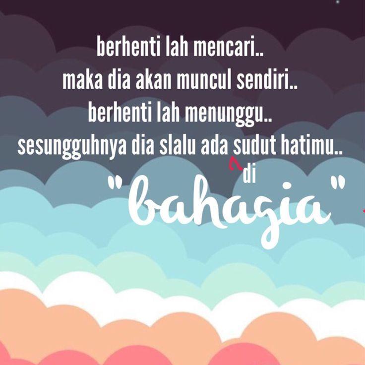 Puisi Bahagia