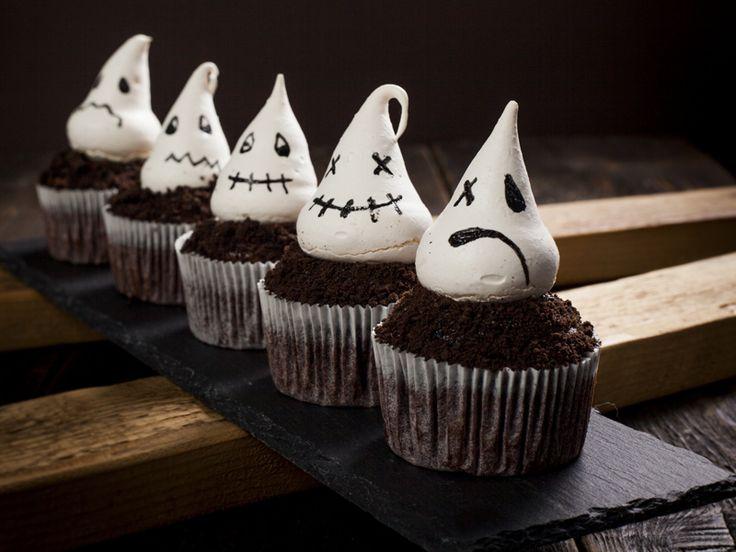 strašidelné cupcakes