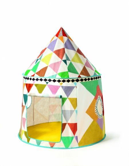 Barntält Multifärg - by Djeco