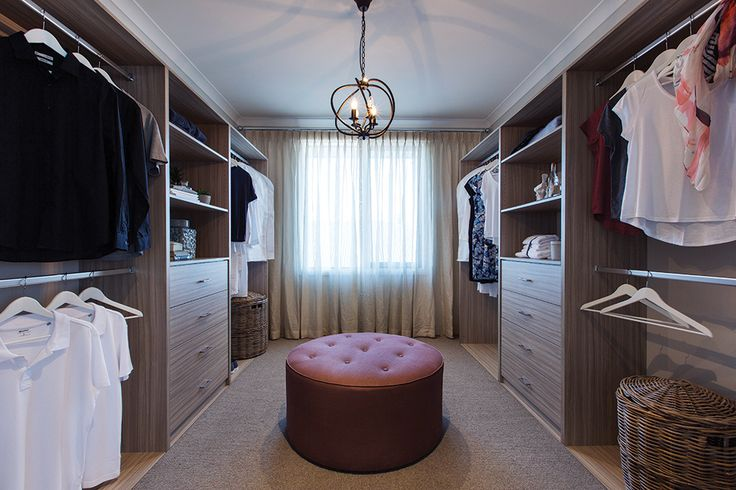 Spacious Walk in robe in the Plaza 44L with Champagne France World of Style.