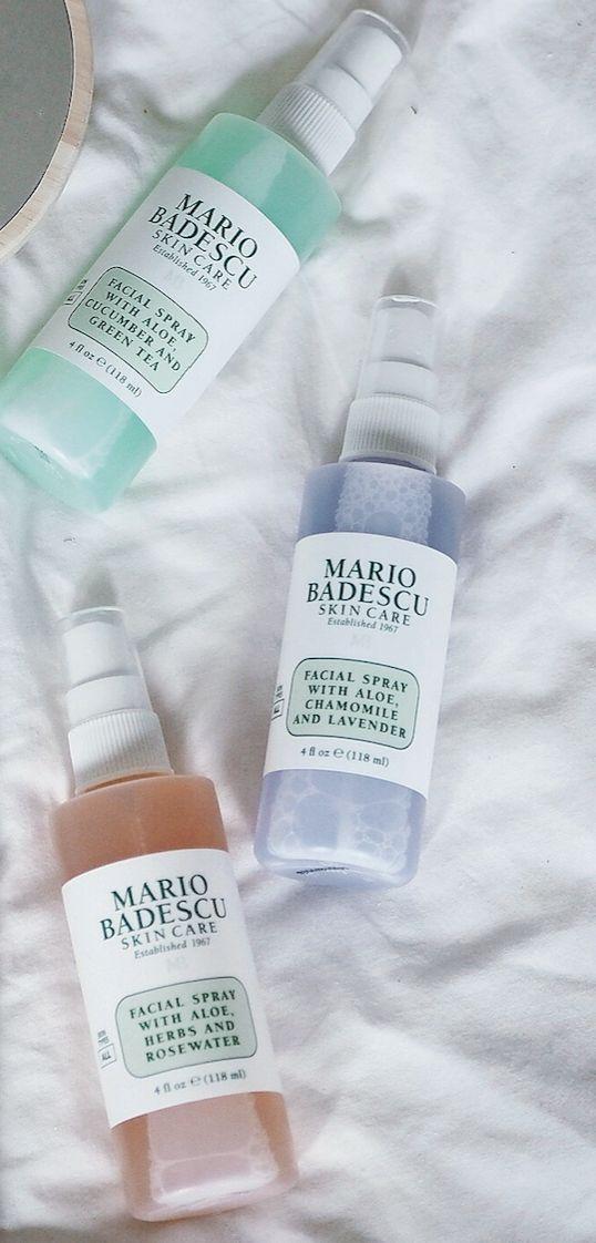 The Cult Facial Sprays from Mario Badescu