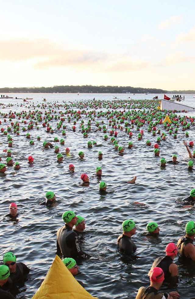 IRONMAN Wisconsin: For small-town charm with plenty of personality, it's tough to beat IRONMAN Wisconsin's 75,000 cheering fans.