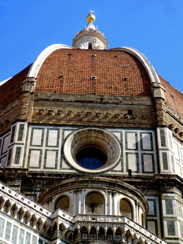 Il Duomo Designed By Filippo Brunelleschi In Florence