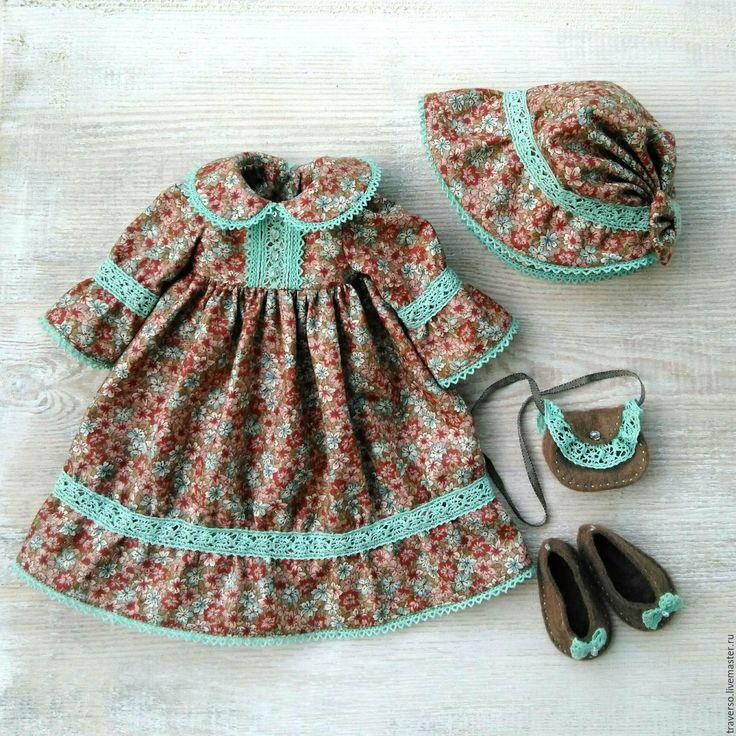 Купить Платье для куклы Paola Reina Винтажное - платье для paola reina, платье для куклы, винтаж