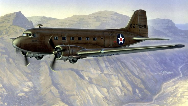 1942 C-47 Dakota over the Hump - Stan Hajek - box art Special Hobby