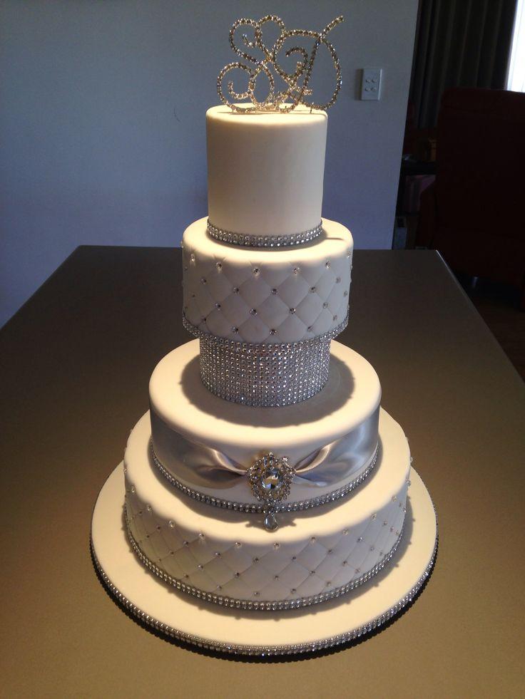 Wedding cake based on a Sandy's Cake Design