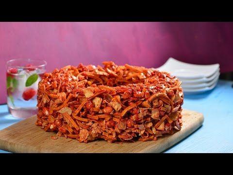 Rosca de Cazares con Chamoy | Cómo hacer una botana de cazares y churritos crujiente - YouTube
