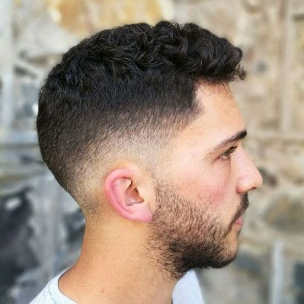 Very Short Curly Hair Low Fade Stubble Beard Best Very Short Haircuts For Men Cool Short Mens Hair Mens Hairstyles Short Thick Hair Styles Frizzy Hair Men