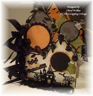 CottageBLOG: Halloween Mini Album & Video