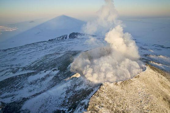 Disso Voce Sabia?: Antártida: descoberto vulcão ativo. Erupção poderia elevar os níveis dos oceanos