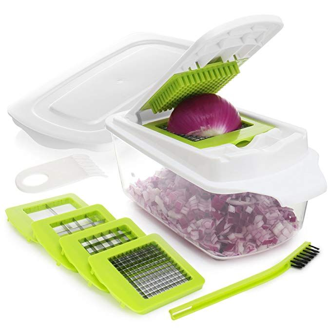 Onion Chopper Pro Vegetable Chopper Slicer Dicer Cutter Strongest 80 Heavier Duty 200 More Container Capacity Vegetable Chopper Onion Chopper Food Chopper