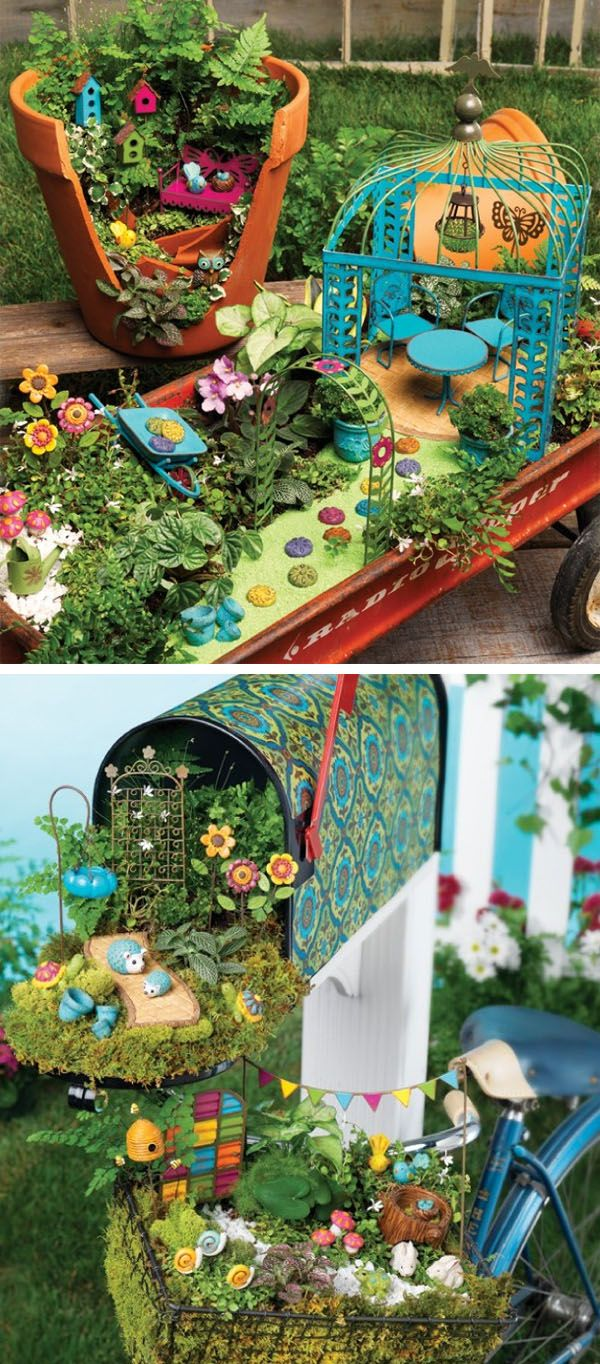 Fairy Garden Items That Make You Smile | creative gift ideas