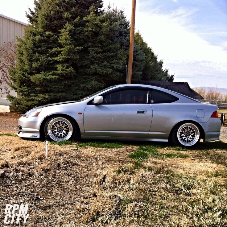 LOW AND CLEAN 2002 Acura RSX Type S - http://rpmcity.com/2014/03/low-and-clean-2002-acura-rsx-type-s/