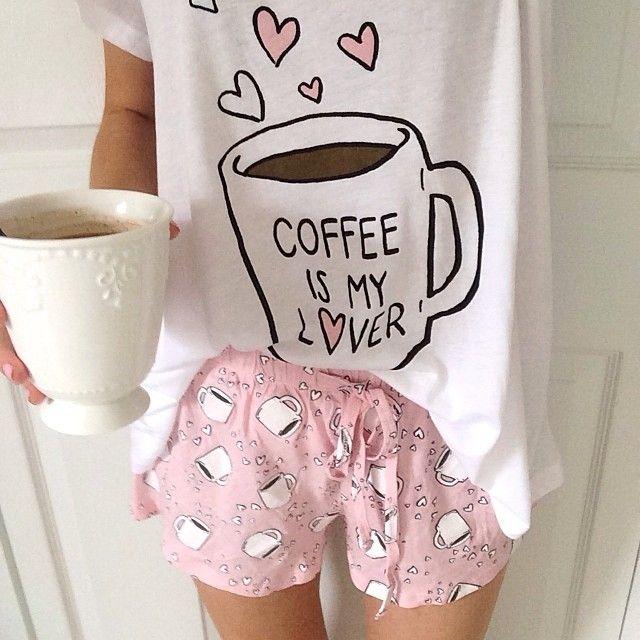 Need these coffee pajamas!