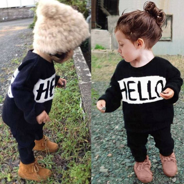 2pcs Newborn Toddler Kids Baby Boys Girls Clothes Outfits T-shirt Tops+Pants Set #Unbranded #DressyEverydayHoliday