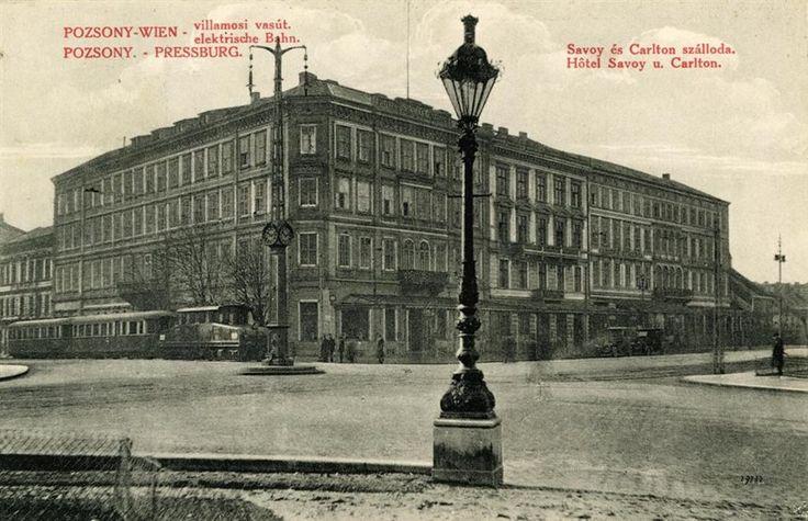 Hviezdoslavovo nam hotel Carlton